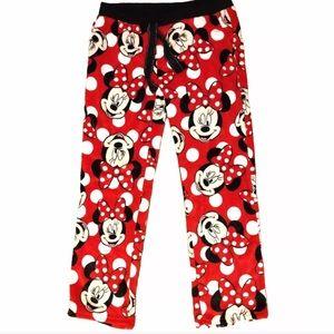 Disney Minnie Mouse soft lounge pj pants Sz S